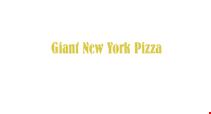 """Product image for Giant New York Pizza-Point Loma 16"""" CHEESE PIZZA with 1 topping $10.99 +tax"""