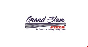 Product image for Grand Slam Pizza $29.99 Large 1-Topping Pitcher of beer Dine-in only.