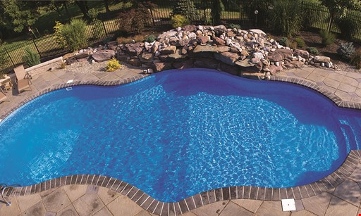 Product image for Atlantis Pools $200 Off vinyl in-ground pool liner with replacement & installation.