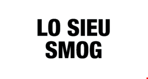 Product image for Lo Sieu Smog Star Certified $36.95 SMOG TEST ONLY.