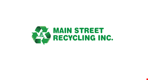 Product image for Main Street Recycling Inc. FREERecycling of Electronic EquipmentComputers, printers, monitors, televisions, stereos and more.