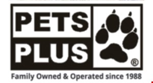 Product image for Pets Plus $3 off your choice 25lbs or larger. Any brand of dog or cat food