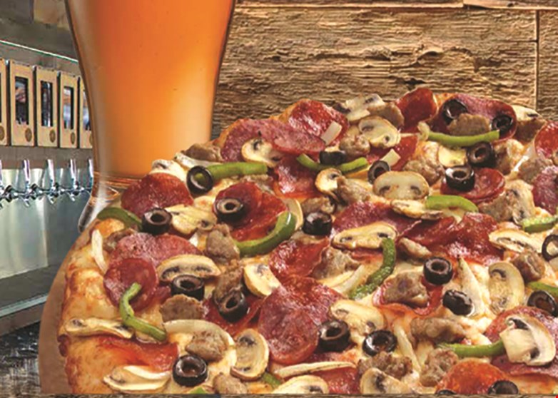 Product image for Round Table Pizza Half price buffet with purchase of adult buffet at regular price.