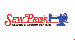 Product image for Sew Pros $19.00 VACUUM CLEANER Service Special