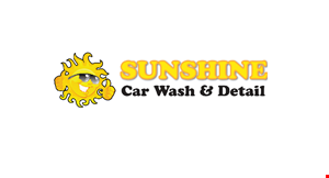 Product image for Sunshine Car Wash And Detail $2.00 OFF Gold or Silver Package.
