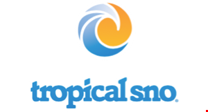 Product image for Tropical Sno FREE shaved ice with purchase of equal size shaved ice.