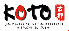 Koto Japanese Steakhouse & Sushi logo