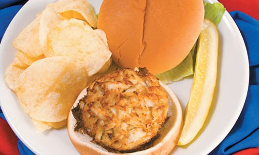 Product image for The Crab Cake Company $2 off Giant Crab Pretzel Supreme.