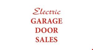 Product image for Electric Garage Door Sales, Inc. $150 OFF single size garage door. $200 OFF double size garage door