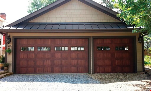 Product image for Electric Garage Door Sales, Inc. $200 OFF double garage door OR $100 OFF single garage door.