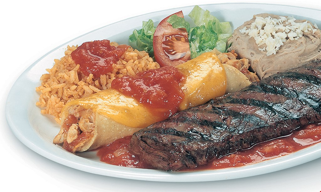 Product image for Pepe's Mexican Restaurant - Tinley Park FREE dinner. Buy 1 dinner, get 1 dinner free with purchase of 2 beverages up to a $9 value. Dine in only