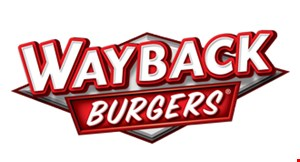Product image for Wayback Burgers Free classic burger with purchase of a Classic Burger.