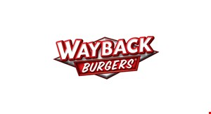 Product image for Wayback Burgers Free Classic Burger with purchase of a Classic Burger