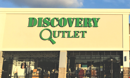 Product image for Discovery Outlet 20% OFF One Item up to $100.00