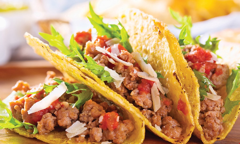 Product image for Oscar's Taco Shop $5 off Your Order of $25 or more.