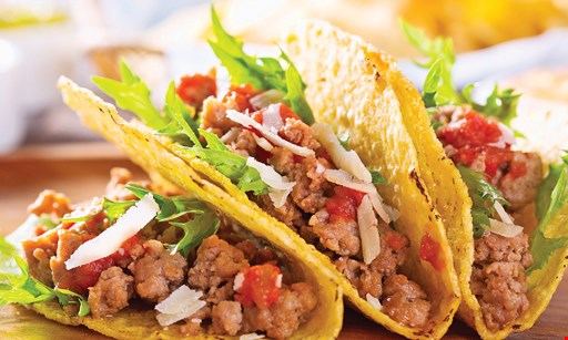 Product image for Oscar's Taco Shop $12.99 MUNCHIES PACK 4 bean & cheese burritos, 4 ground beef tacos & chips & salsa.