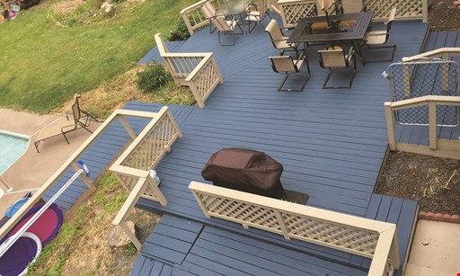 Product image for Deck Saver (Rochester) DECK POWER WASH STARTING AT $99* *with a deck staining contract.