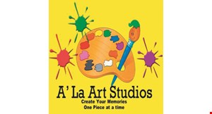 Product image for A' La Art Studios $15 For A 4-Pack Of Studio Fees (Reg.$30)