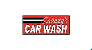Product image for Snazzy's Car Wash $10 For A Level Four Car Wash (Reg. $20)