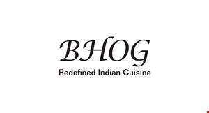 BHOG Redefined Indian Cuisine logo
