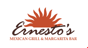 Product image for Ernesto's Mexican Grill & Margarita Bar $3 OFF any purchase of $10 or more.