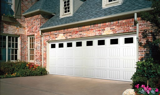 Product image for Overhead Door Company  Of Southern California SPRING SPECIAL *3-LAYER POLYURETHANE INSULATED STEEL GARAGE DOOR & WINDOW PACKAGE. N
