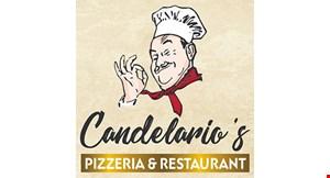 Candelario's Pizza logo