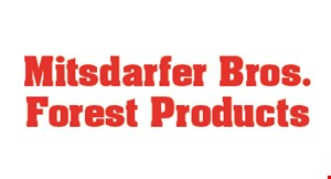 Product image for Mitsdarfer Bros. Forest Products 5% off bulk stone orders.