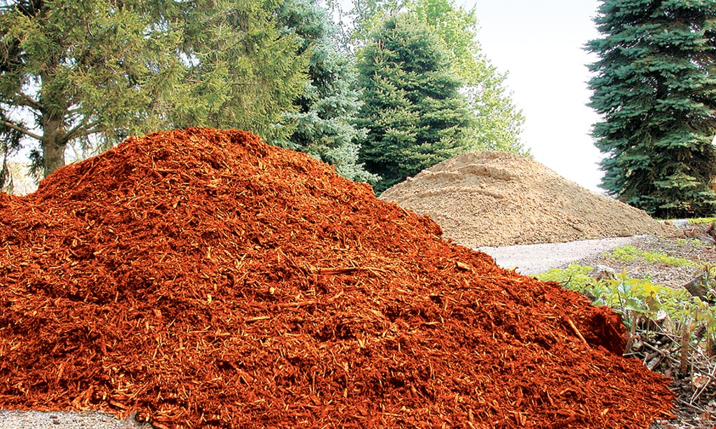 Product image for Bob Evans Mulch & Firewood, Inc. FREE mulch. Every 5th yard free. For every 4 yards of mulch purchased get 5th yard free