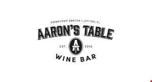 Product image for Aaron's Table & Wine Bar $15 For $30 Worth Of Casual Dining