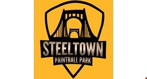 Steeltown Paintball Park logo