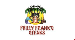 Product image for Philly Frank's Steaks $1 OFF Any Sandwich