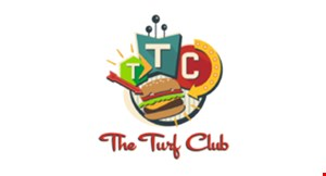 Product image for The Turf Club $10 OFF any order of $50 or more. Valid on dine in or carry-out.