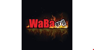 Product image for WaBa Grill 20% off any take out order.