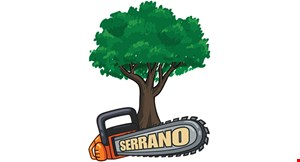 Product image for Serrano Tree Service $125 off any work of $1200 or more