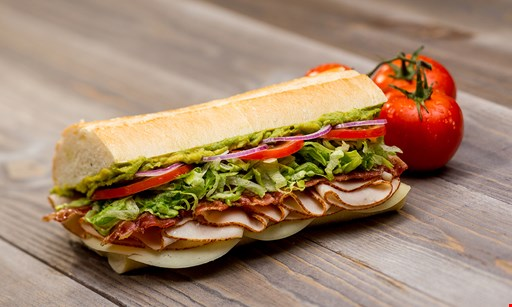 Product image for Port Of Subs Free small sub with purchase of any medium classic combo