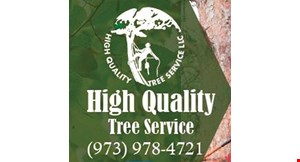 High Quality Tree Service logo