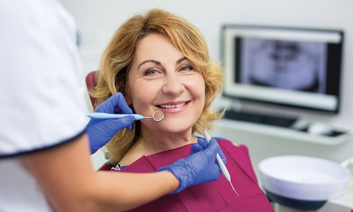 Product image for Cedar Creek Family Dental $99$223 VALUE 4 Bitewing DigitalX-Rays, Exam & General Cleaning (extra charge for periodontal procedures).
