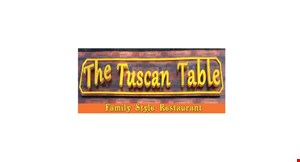 Product image for The Tuscan Table $10 Off any purchase of $50 or more.