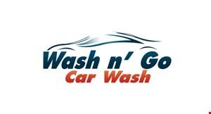 Wash N' Go Car Wash logo