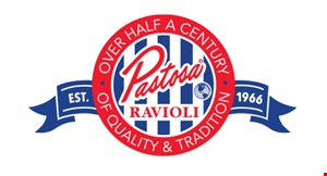 Product image for Pastosa Ravioli $10 OFF any purchase of $100 or more
