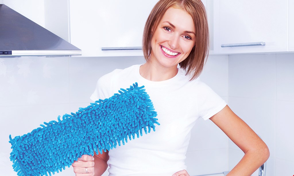 Product image for Clean Clarksville $100 Off take $20 off each of your first 5 cleanings