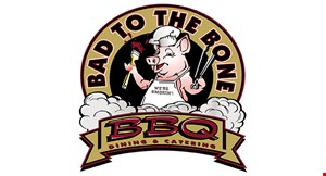 Bad To The Bone BBQ Dining & Catering logo