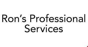 Ron's Professional Services logo