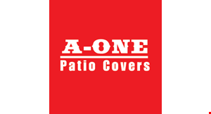 A-One Patio Covers logo