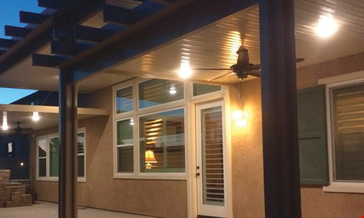 Product image for A-One Patio Covers FREE 6 LED Ceiling Lights