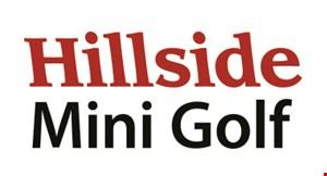 Hillside Mini Golf logo