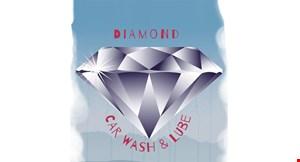 Diamond Car Wash & Lube Center logo