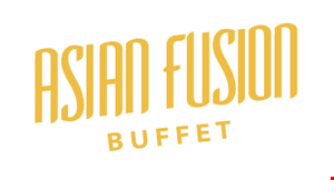 Product image for Asian Fusion Buffet $1.50 OFF adult dinner buffet