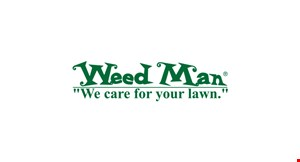 Product image for Weed Man $24.95 first visit